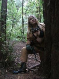 Eva from Metal Gear Solid 3: Snake Eater worn by Sprocket