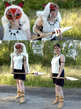 princess mononoke cosplay costume
