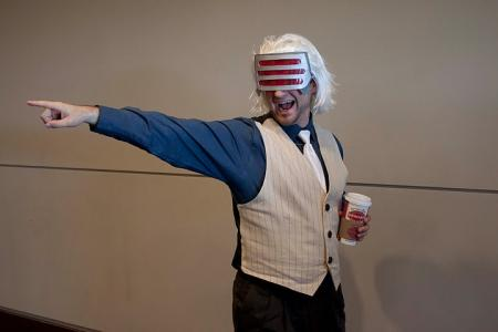 Godot from Phoenix Wright: Trials and Tribulations (Worn by Iceman)