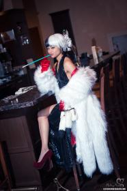 Cruella De Vil from 101 Dalmations worn by Melting Mirror
