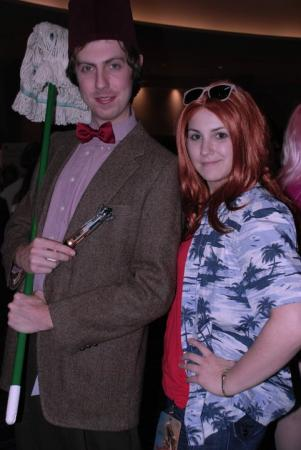 Amy Pond from Doctor Who worn by Rachael