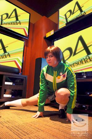 Chie Satonaka from Persona 4 worn by Rose of Battle