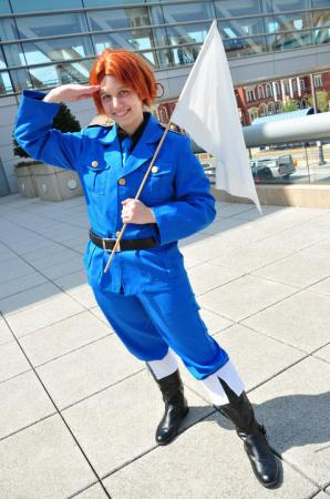 Italy (Veneziano) / Feliciano Vargas from Axis Powers Hetalia worn by Rose of Battle