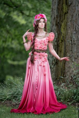 Aeris / Aerith Gainsborough from Final Fantasy VII by Dessi_desu
