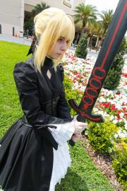 Saber Alter from Fate/Hollow Ataraxia worn by aiichu