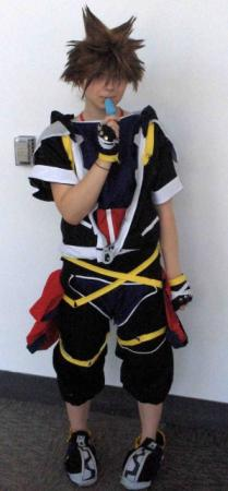 Sora from Kingdom Hearts 2 worn by Fong
