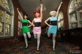 Blossom from Powerpuff Girls worn by Fong