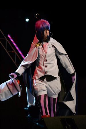 Mephisto Pheles from Blue Exorcist worn by Mr. Pineapple
