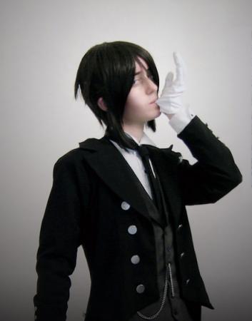 Sebastian Michaelis from Black Butler worn by Mr. Pineapple