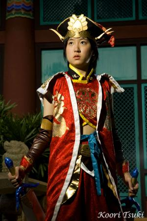Lu Xun from Dynasty Warriors 5 worn by Koori Tsuki