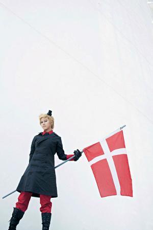 Denmark from Axis Powers Hetalia