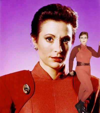 Major Kira from Star Trek: Deep Space Nine
