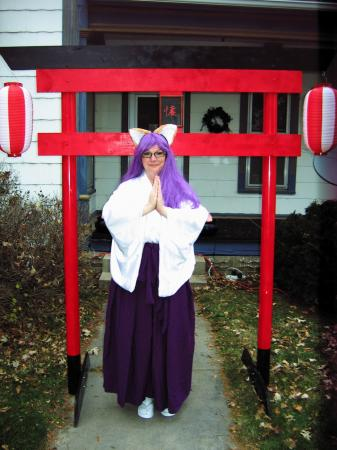 AnimeIowa Shrine Maiden from Original Design