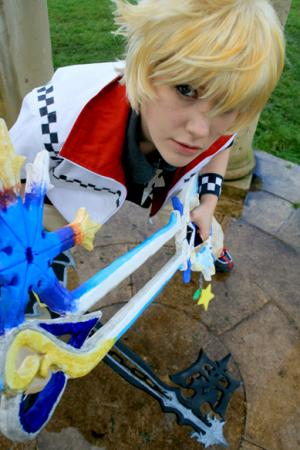 Roxas from Kingdom Hearts 2 worn by Yuka
