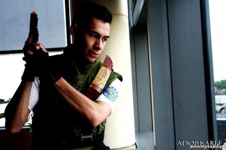 Chris Redfield from Resident Evil