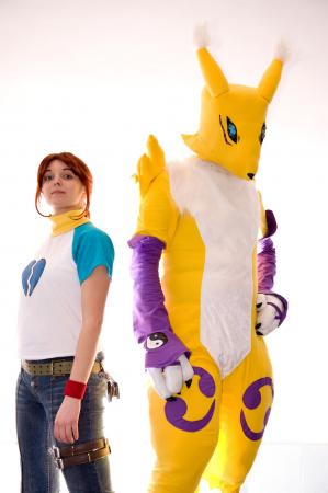 Renamon from Digimon Tamers by PatrickD