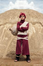 Gaara from Naruto worn by cachalot