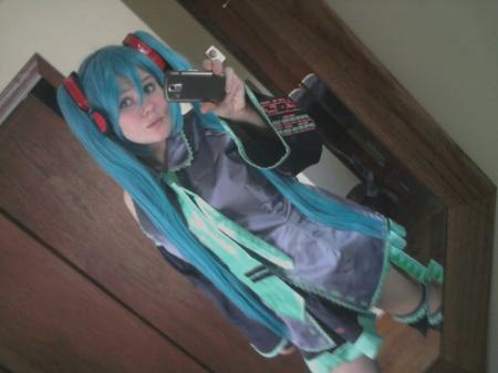 Hatsune Miku from Vocaloid 2