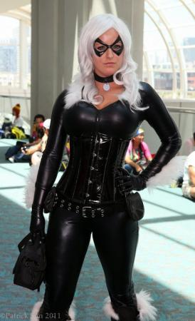 Black Cat from Spider-man worn by Hydra