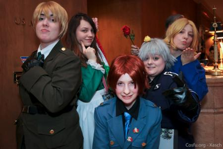 UK / England / Arthur Kirkland from Axis Powers Hetalia worn by jessicalynnchan