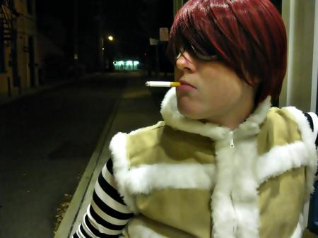 Matt / Mail Jeevas from Death Note worn by jessicalynnchan