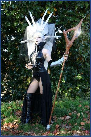 Dark Elven Gatekeeper from Lineage II worn by Mogu