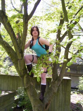 Lara Croft from Tomb Raider worn by ladysasha