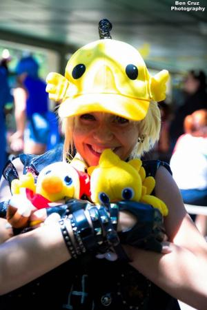 Prompto Argentum from Final Fantasy XV worn by Chibi Inu Tsuzuki