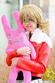 Barnaby Brooks Jr. / Bunny from Tiger and Bunny worn by Chibi Inu Tsuzuki