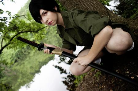 Saya Otonashi from BLOOD+ worn by Chibi Inu Tsuzuki