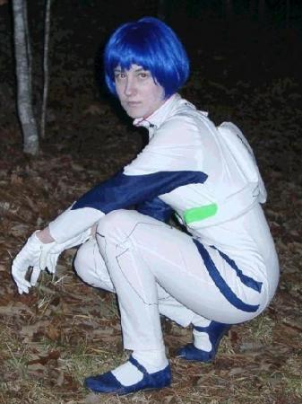 Rei Ayanami from Neon Genesis Evangelion worn by Hanime