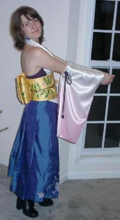 Yuna from Final Fantasy X worn by Hanime