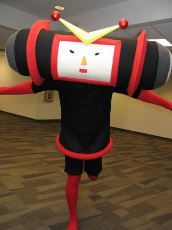 Kuro from Katamari Damacy worn by CarefreeCaptain