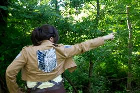 Hanji Zoe from Attack on Titan worn by Nightengale37
