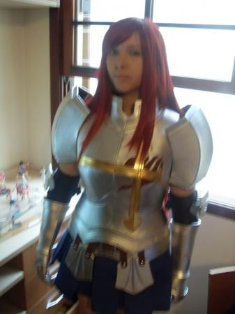 Erza Scarlet from Fairy Tail worn by Erika Ivy
