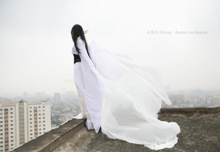 Yukionna - Snow Demon from Original Design worn by Adrian L. Airya