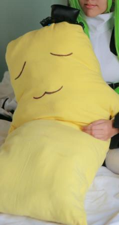 Cheese-kun from Code Geass worn by Adrian L. Airya