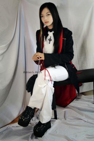 Nemesius from Original: Gothic Lolita / EGL / EGA worn by Adrian L. Airya