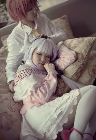 Kanna from Kobayashi-san Chi no Maid Dragon worn by Shinigami Clover