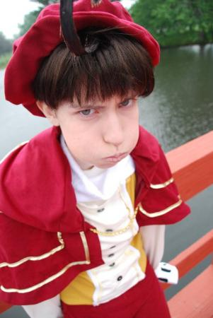 Italy (Romano) / Lovino Vargas from Axis Powers Hetalia worn by Meaka