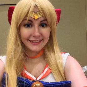 Sailor Venus from Sailor Moon worn by Fancy_Duckie