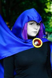 Raven from Teen Titans worn by Katigiri