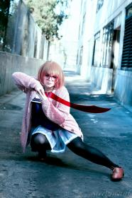 Mirai Kuriyama  from Beyond the Boundary worn by Katigiri