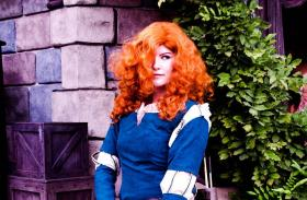 Merida from Brave worn by Akaichan