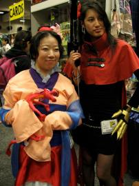 Mulan from Mulan worn by atlantisan