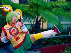 Pao-Lin Huang / Dragon Kid from Tiger and Bunny worn by atlantisan