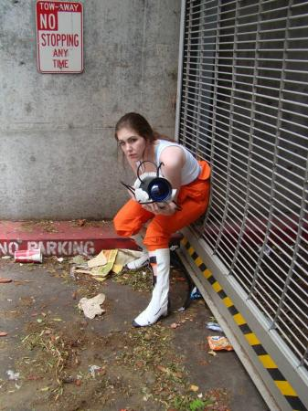 Chell from Portal worn by Elii
