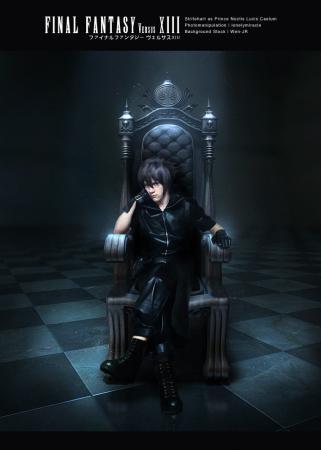 Noctis Lucis Caelum from Final Fantasy Versus XV