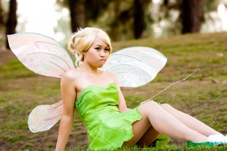 Tinker Bell from Peter Pan worn by kimixkimi