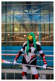 Gamora from Guardians of the Galaxy worn by Tenacious Bee